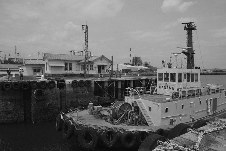 世界文化遺産「三池港」閘門